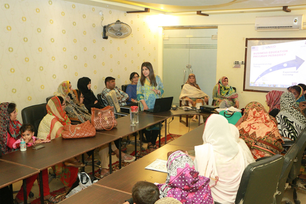 Business Incubation Program for Women Home-based Workers Orientation session, Hyderabad 9th September 2016