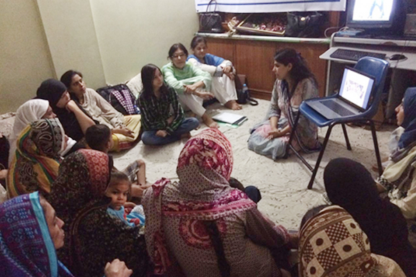 Business Incubation Program for Women Home-based Workers Orientation session, Sultanabad held on 22nd August 2016