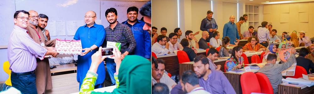 Force Field Workshop Conducted by Syed Hussain Haider at IBA CED