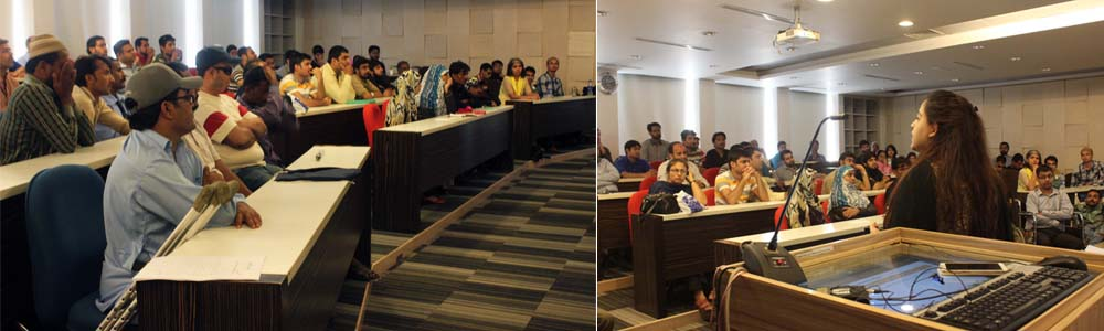 IBA-CED & NOWPDP organized a workshop for people with special needs by the name of KHUD MUKHTAR