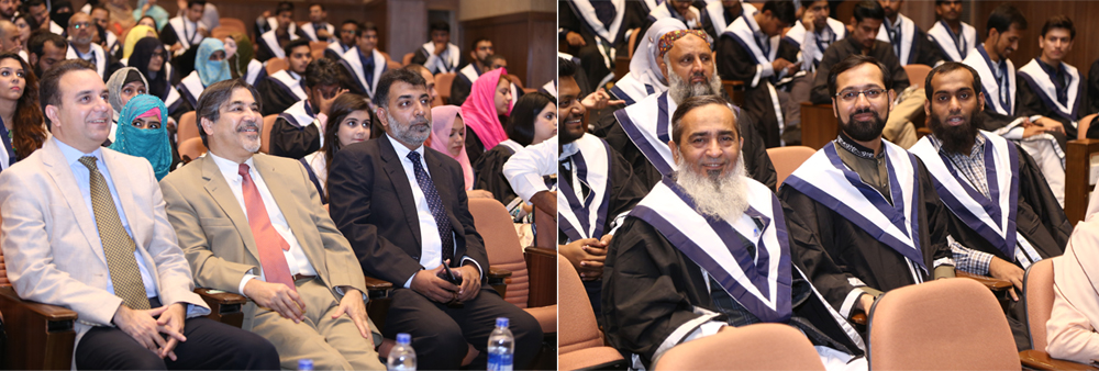 IBA AMAN CED organized the graduation ceremony of different programs of CED at G & T Auditorium, IBA Main Campus, Karachi