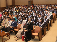 October 7, 2017: IBA AMAN CED organized the graduation ceremony of different programs of CED at G & T Auditorium, IBA Main Campus, Karachi