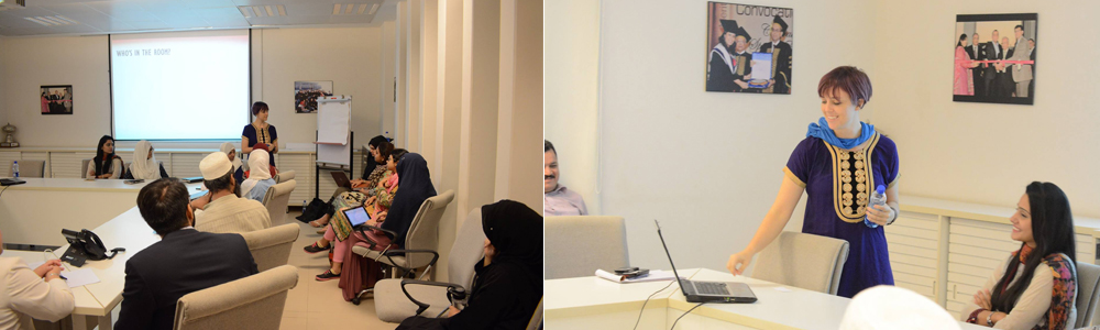 IBA Aman-CED arranged a session talk on Entrepreneurial Curriculum Development in collaboration with US Consulate Karachi