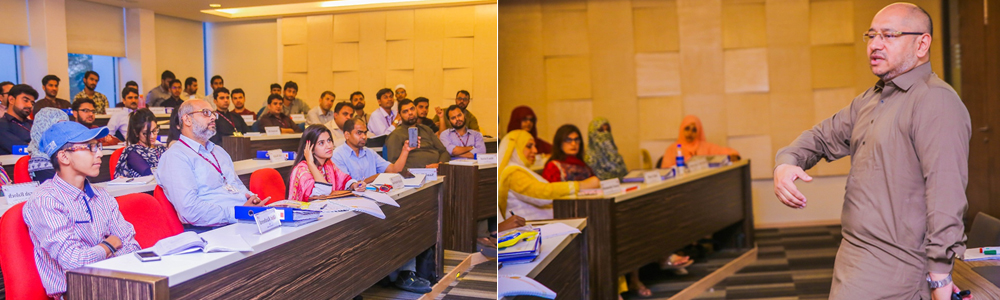 Workshop at IBA CED's Certificate Program conducted by Syed Hussain Haider