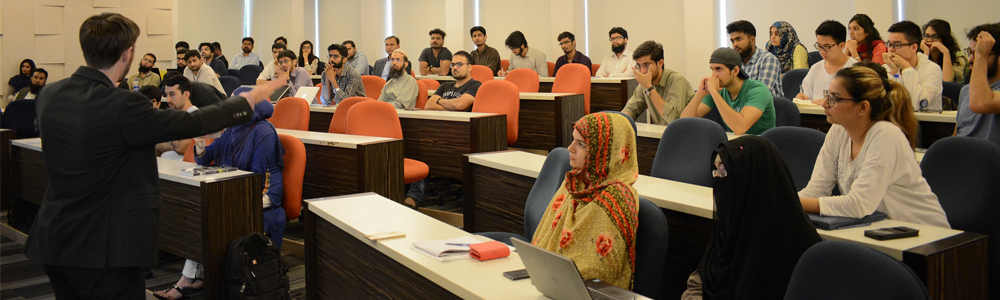July 20, 2017-IBA Aman-CED in collaboration with U.S. Consulate General Karachi held a talk session on
