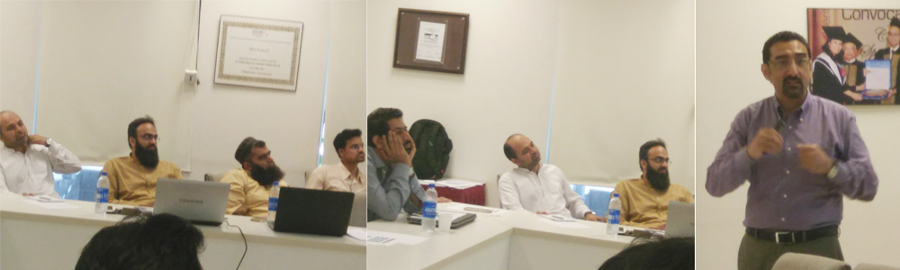 Session on Systematic Literature Review conducted by Dr. Irfan Butt at IBA CED
