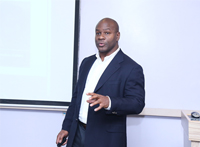KG Charles from Silicon Valley conducted a session on Startup Funding Trends