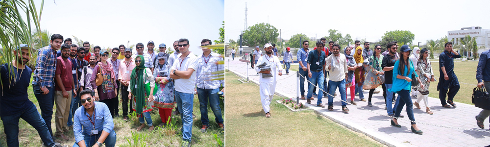 CIE participants Visited Agricultural farm