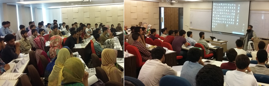 Workshop on Entrepreneurship and Entrepreneurial Vision for Talent Hunt Program Students by AMAN CED