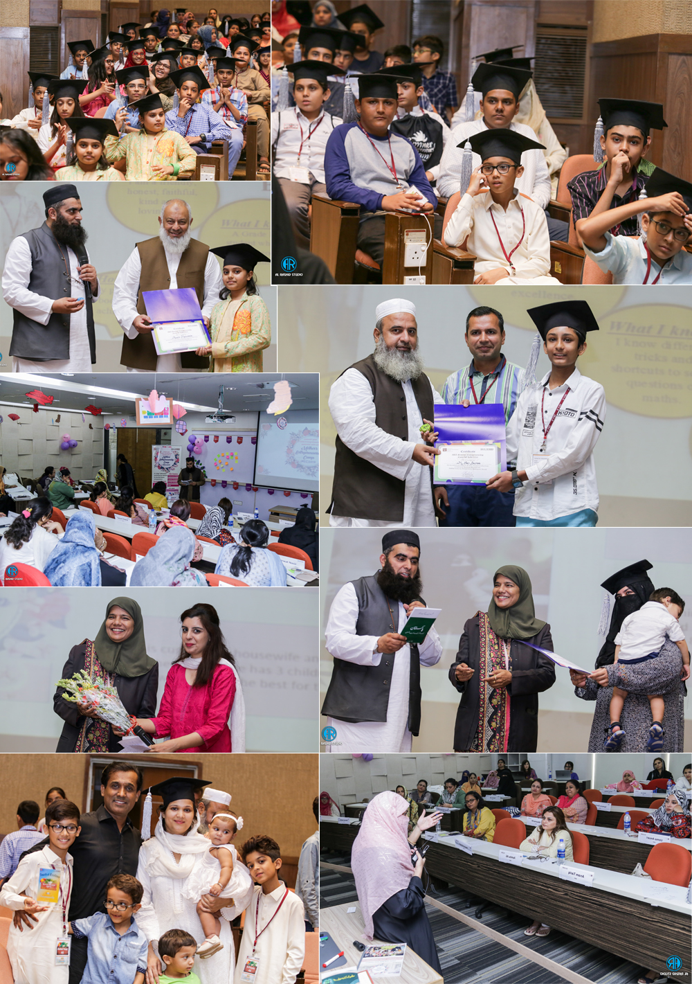IBA CED organized a Graduation Ceremony for Kids Summer Entrepreneurship Camp (SEC) and Certificate Ceremony for Mothers Entrepreneurship Camp