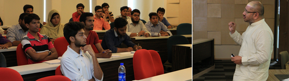 Guest speaker session by Syed Hussain Haider