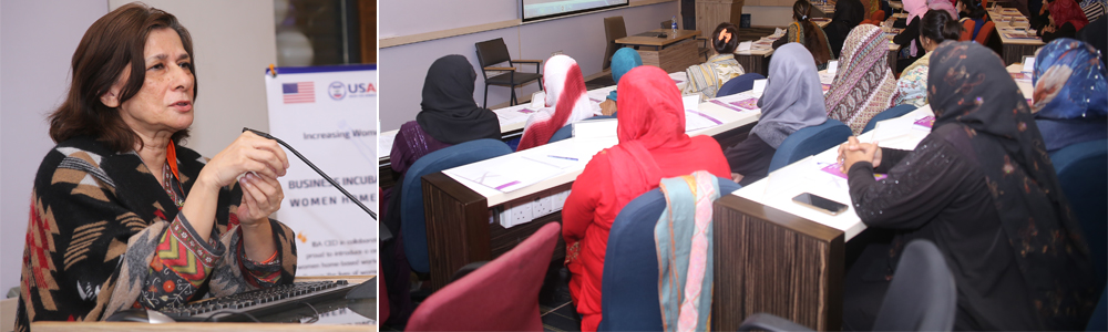 IBA AMAN CED Launches Business Incubation Program for Women Home-Based Workers