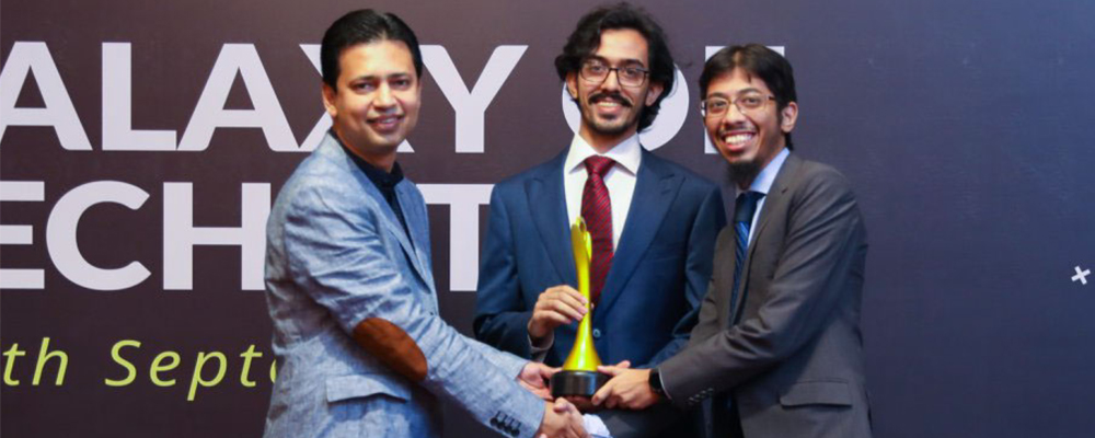 IBA Aman CED Incubatee, Love for Data, bags three awards at P@SHA ICT Awards 2018