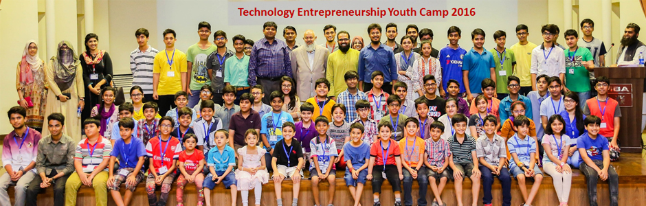 Technology Entrepreneurship Youth Camp 2016