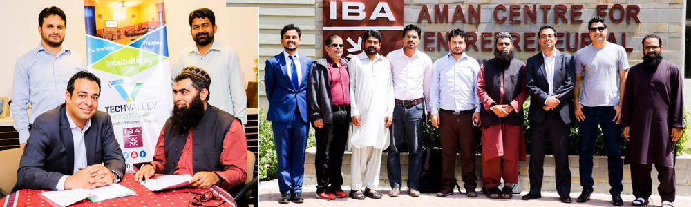IBA AMAN CED & Tech Valley Abbottabad jointly organized an information and awareness session on Freelancing