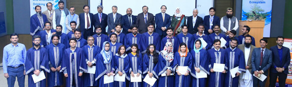 First Graduation Ceremony of IBA NEP at Mehran University, Jamshoro