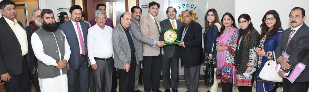 IBA NEP team conducted an awareness session at FPCCI's Head Office in Karachi.
