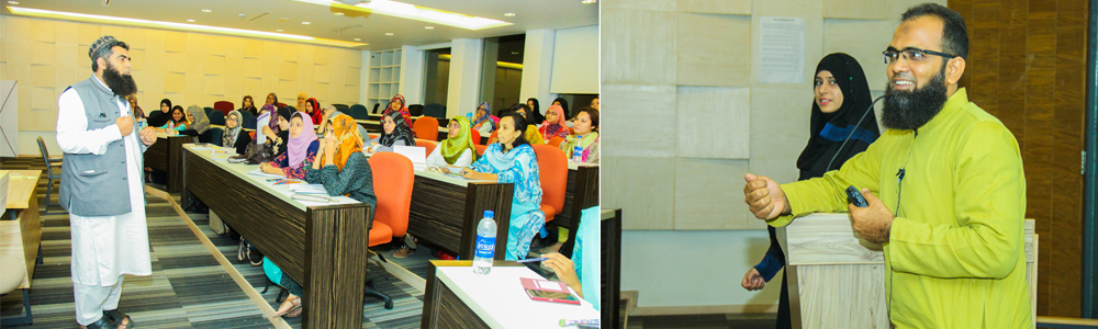 The orientation ceremony of certificate in Women Tech Entrepreneurship Program (WTEP) was held at IBA AMAN CED