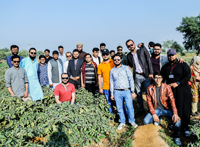 26th Jan, 2018: IBA CED's Certificate Students entrepreneurial educational trip to Jamshoro