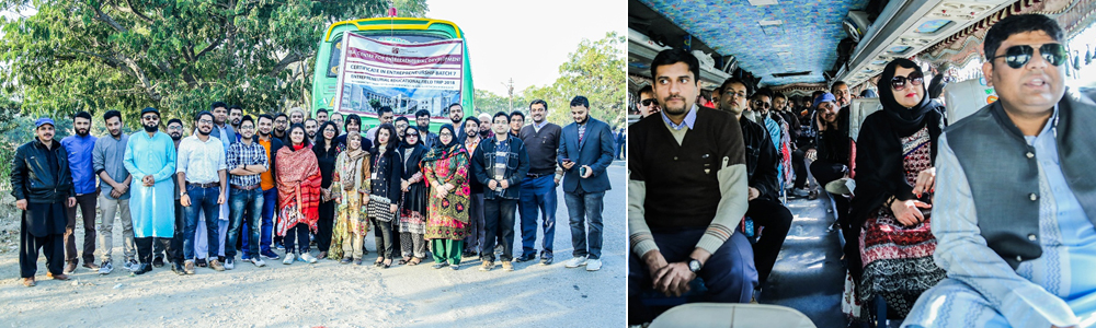 IBA CED's Certificate Students entrepreneurial educational trip to Jamshoro