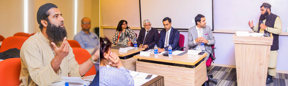 IBA AMAN-CED in collaboration with US Consulate General Karachi held a talk session on IPR & Globalization