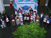 Graduation Ceremony of Entrepreneurship Development Program Batch 9