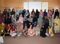 IBA-CED conducted the final session of IBA Women Entrepreneurship Program (WEP) at Faisalabad