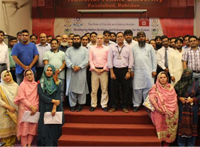 A two days' workshop for Faculty on how to develop & teach the Entrepreneurial Mindset at NTU Faisalabad