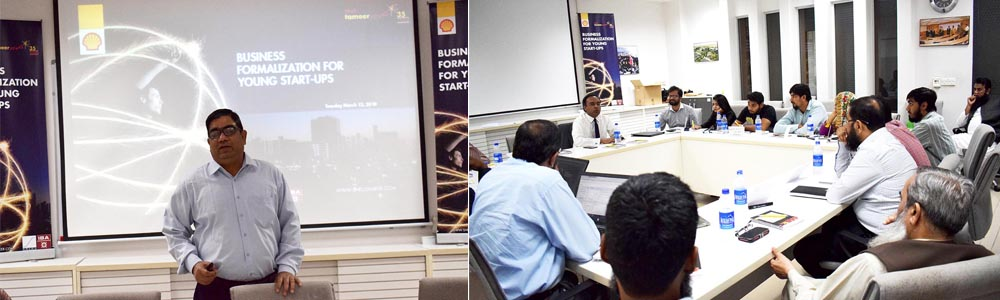 Workshop on Business formalization for young startups